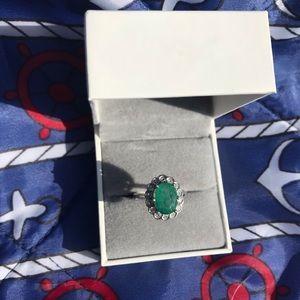 Other - Vintage Muzo era 1950s natural emerald ring